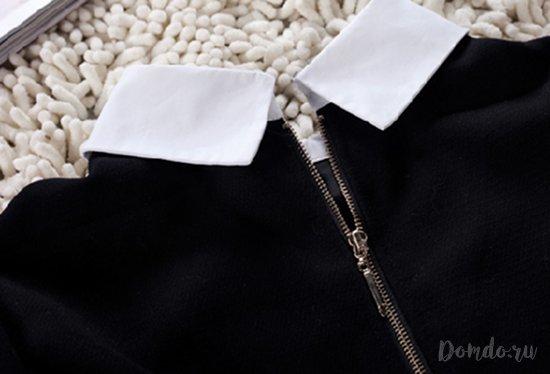 chjorno-belaja-bluzka