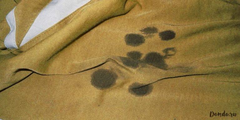 Чем вывести жирное пятно с пальто в домашних условиях фото